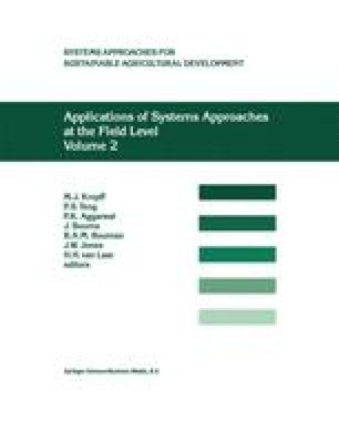 Applications of Systems Approaches at the Field Level