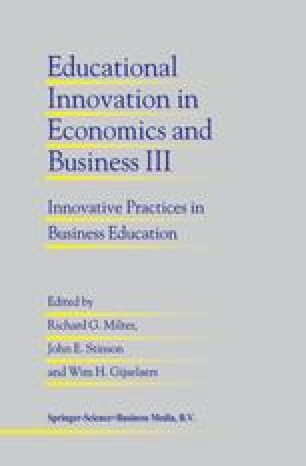Roles of Economics in Business and Management Education