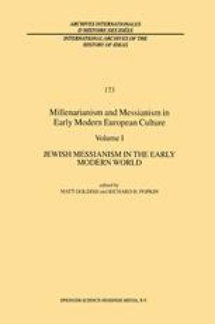 Messianism in the Christian Kabbalah of Johann Kemper