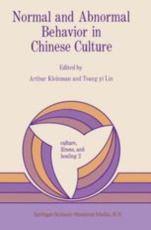 Traditional Chinese Medical Beliefs and Their Relevance for