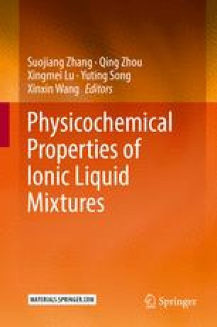 Physicochemical Properties of Ionic Liquid Mixtures