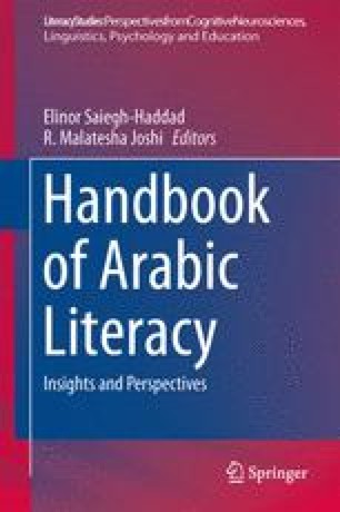 The Structure of Arabic Language and Orthography | SpringerLink