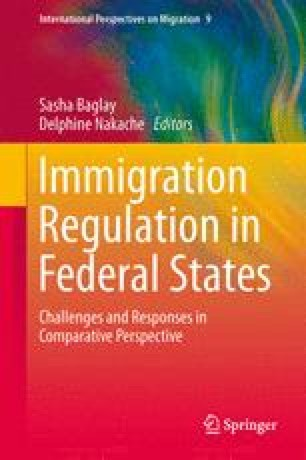Immigration Federalism in Canada: Provincial and Territorial Nominee