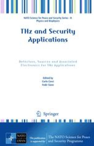 THz and Security Applications: Detectors, Sources and Associated Electronics for THz Applications