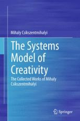 theoretical approaches to creativity