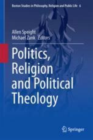Politics, Religion and Political Theology