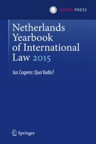Netherlands Yearbook of International Law 2015