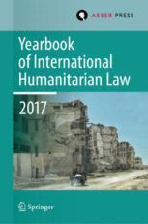 Does international humanitarian law legitimise wars?
