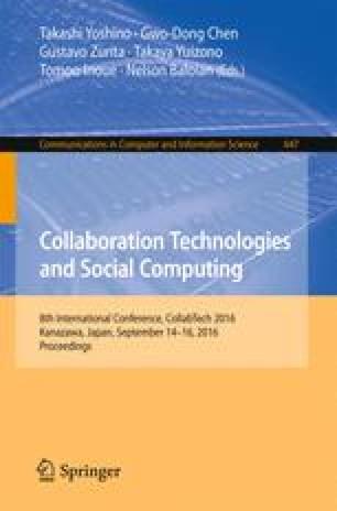 Collaboration Technologies and Social Computing
