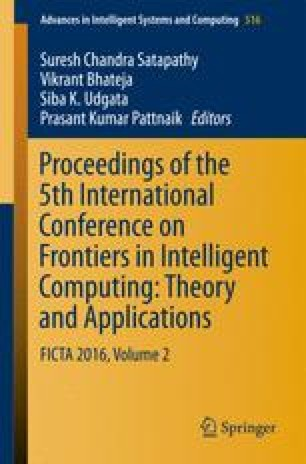 Proceedings of the 5th International Conference on Frontiers in Intelligent Computing: Theory and Applications