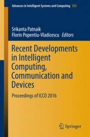 Recent Developments In Intelligent Computing Communication And Devices Springerlink
