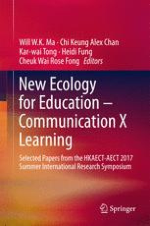 New Ecology for Education — Communication X Learning