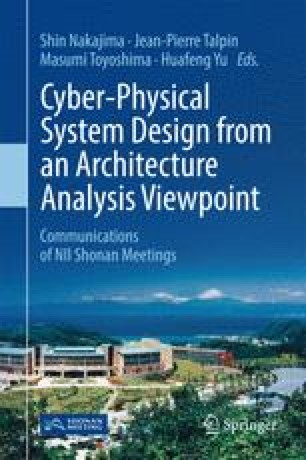 Cyber-Physical System Design from an Architecture Analysis Viewpoint