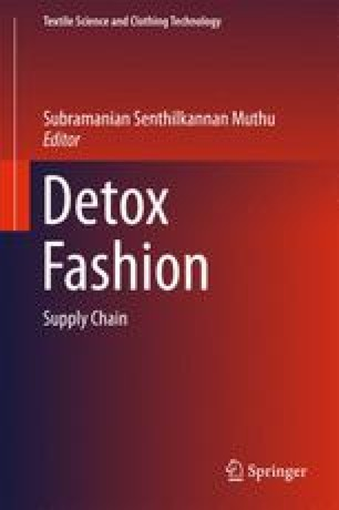 Toxic Free Supply Chain for Textiles and Clothing   SpringerLink