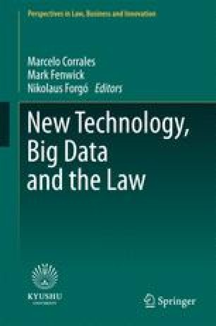 New Technology Data And The Law