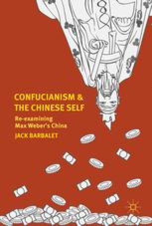 Confucianism and the Chinese Self