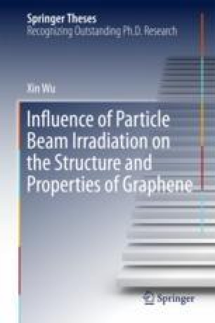 Influence of Particle Beam Irradiation on the Structure and Properties of Graphene