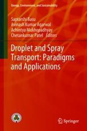 Droplet and Spray Transport: Paradigms and Applications