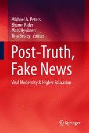 posttruth knowledge as a power game key issues in modern sociology