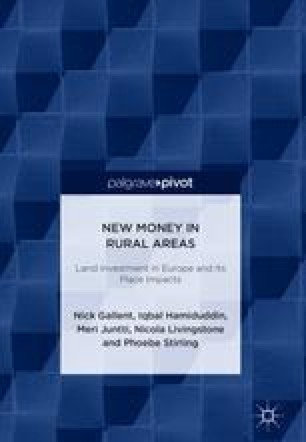 New Money in Rural Areas