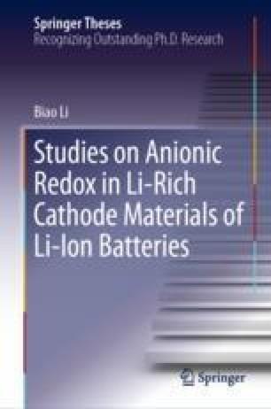 Studies on Anionic Redox in Li-Rich Cathode Materials of Li-Ion