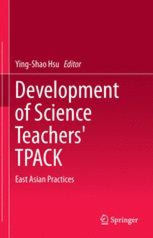 Development of Science Teachers' TPACK