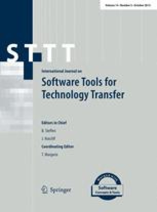 International Journal on Software Tools for Technology Transfer