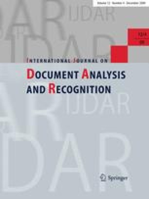 International Journal on Document Analysis and Recognition (IJDAR)