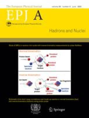 The European Physical Journal A