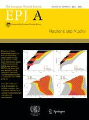 The European Physical Journal A