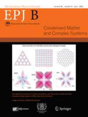 The European Physical Journal B - Condensed Matter and Complex Systems