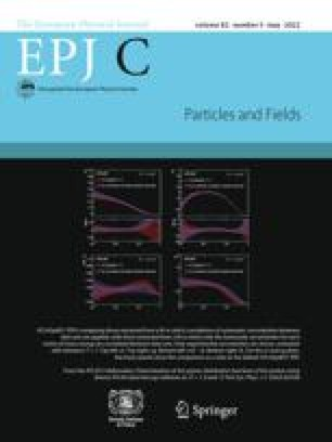 The European Physical Journal C - Particles and Fields