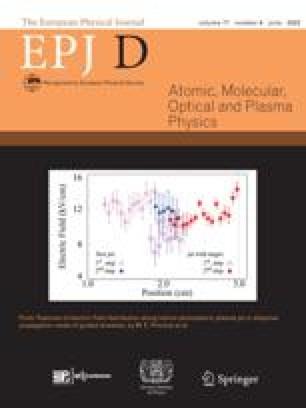 The European Physical Journal D - Atomic, Molecular, Optical and Plasma Physics