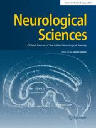 The Italian Journal of Neurological Sciences