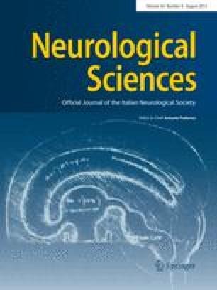 The Italian Journal of Neurological Sciences