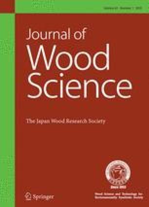 Journal of Wood Science - Springer