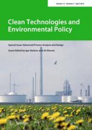 Clean Technologies and Environmental Policy - Springer