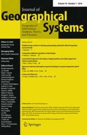 Journal of Geographical Systems - Springer