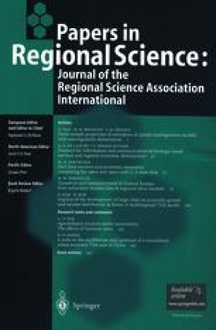 Papers of the Regional Science Association
