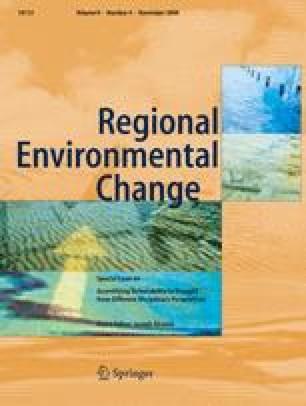Regional Environmental Change
