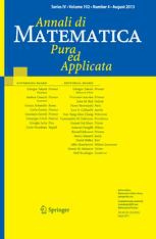 Annali di Matematica Pura ed Applicata