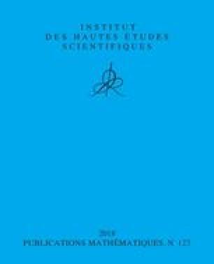 Publications mathématiques de l'IHÉS