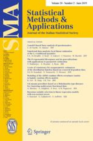 Journal of the Italian Statistical Society