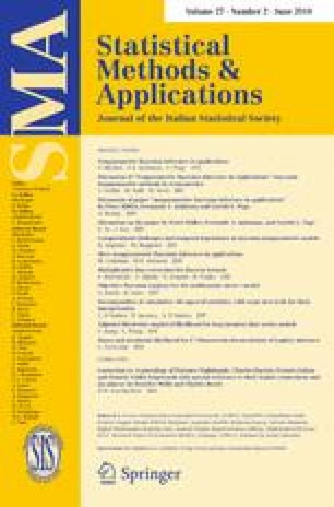 Statistical Methods & Applications