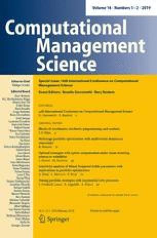 Computational Management Science Home