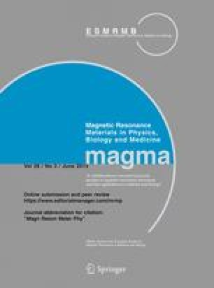 Magnetic Resonance Materials in Physics, Biology and Medicine