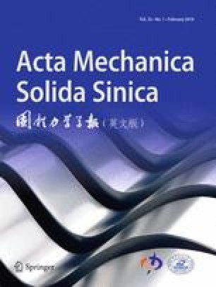 Acta Mechanica Solida Sinica