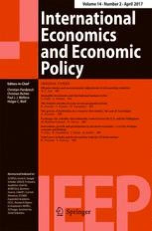 International Economics and Economic Policy