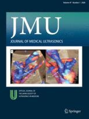 Journal of Medical Ultrasonics