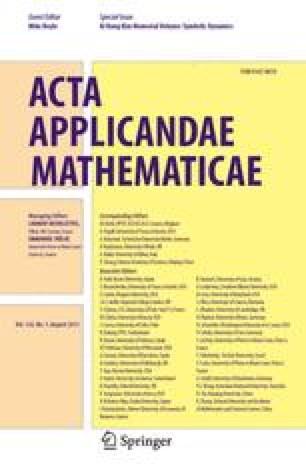 Acta Applicandae Mathematica